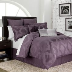 Love these colors (maybe bathroom?) Circa 4-Piece Comforter Set - BedBathandBeyond.com guest bedroom idea