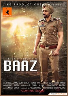 Download Punjabi Movie Bazz http://3gp-mobilemovies.com/punjabi/844z.php Punjabi Movie with Full of Action and Drama. Famous Punjabi Singer and Actor Babbu Maan is making his Come back after couple of years in Punjabi Movies with Baaz Punjabi Movie. Rating: 3.5 Stars Director:  Simerjit Singh Cast & Crew:  Babbu Maan, Mukul Dev, Sardar Sohi, Pooja Verma, Yograj Singh, Aditi Sharma Music: Babbu Maan