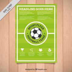 Descubre miles de vectores gratis y libres de derechos en Freepik Brochure Template, Flyer Template, Soccer Backgrounds, France Flag, Soccer Poster, Sports Flyer, Soccer Party, Badge Logo, Flyer Design