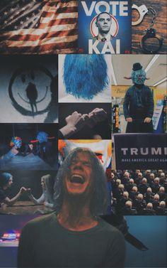 Series Movies, Movies And Tv Shows, Tv Series, American Horror Story Art, Ahs Cult, Boy Celebrities, Arte Sketchbook, Evan Peters, Movie Wallpapers