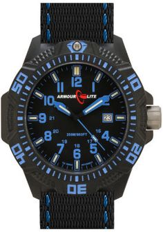 online shopping for Armourlite Caliber Series Tritium Watch Blue from top store. See new offer for Armourlite Caliber Series Tritium Watch Blue Tritium Watches, Nato Strap, 200m, Blue Band, Blue Accents, Stainless Steel Bracelet, Casio Watch, Watches For Men, Quartz