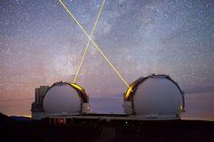 Mauna Kea observatory in Hawaii.