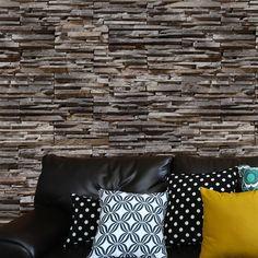 Papel de parede adesivo pedra - StickDecor   Decoração Criativa