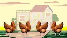 No chicken dance has ever been this funky. When you do the chicken bop, the fun won't stop! The StoryBots are curious little creatures who live beneath our s. School Themes, School Fun, Preschool Behavior, Preschool Ideas, Chicken Song, Calendar Songs, Farm Songs, Farm Unit, Educational Games For Kids