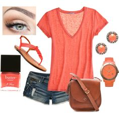 """""""Summer Time"""" by honeybee20 on Polyvore"""