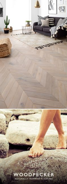 Take a closer look with free samples to discover your perfect wood floor. Order from our website and we'll send them in the post. Woodworking Guide, Custom Woodworking, Woodworking Projects Plans, Parquet Flooring, Kitchen Flooring, Hardwood Floors, Chevron Floor, Herringbone Wall, Bedroom Flooring