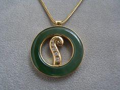 Koru Disc Pendant, 18ct Yellow gold & diamond set, Qualified jeweller, made to order,Women fashion, Gold & jade jewellery &  good gift idea. Contact us www.tpgoldsmiths.co.nz