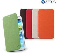 Walnutt Color Flip Case for Samsung Galaxy Note 2 by Zenus