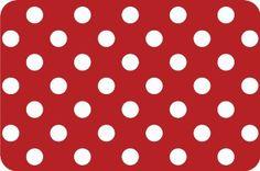d-c-fix® Set of 4 Placemats Dots Red: Amazon.co.uk: Kitchen & Home