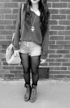 Great school outfit! Cute and modest!