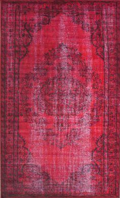 RugStudio presents Nuloom Machine Made Chroma Red Machine Woven, Good Quality Area Rug