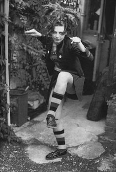 Ari Up #TheSlits photographed by her mother Nora Forster in Battersea, London, 1978.