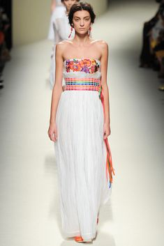 Alberta Ferretti - Can't believe how on trend our idea was.  If only!