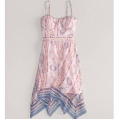 Super cute dress American eagle size small dress with bustier top. Worn once NO TRADES American Eagle Outfitters Dresses