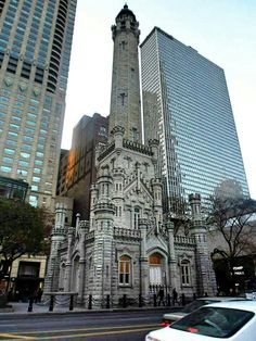 Chicago Water Tower .-Chicago, IL