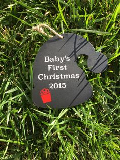 A personal favorite from my Etsy shop https://www.etsy.com/listing/257459054/babys-first-christmas-ornament-christmas