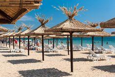 Golden Sands beach, near Varna-BULGARIA