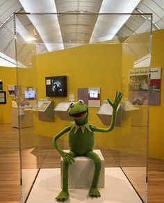 """I can't wait to see this!  Look for our Jim Henson quote necklace """"There is not a word yet for old friends who've just met"""" in the Skirball gift shop!  """"The Jim Henson Exhibition: Imagination Unlimited"""" #jimhensonexhibition • © Muppets/Disney ( #📷 @skirball_la )"""