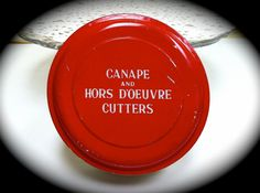 Canape and Hors D'oeuvres Appetizer Cutters in by ScarlettsFancies, $12.00