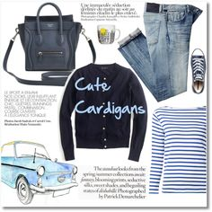 A fashion look from May 2016 by galina-gavrailova featuring Yves Saint Laurent, J.Crew, Citizens of Humanity, Converse, House Doctor, cutecardigan and springlayers