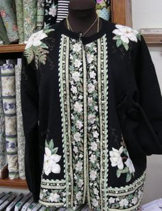 Sweatshirts can be converted into some creative masterpieces. Try your own version or come and take a class with me on July 11th at Hancock fabrics in Salisbury, MD.  Take our link to Jenny's Sewing Studio gallery and see the sweatshirts I have converted in the past.