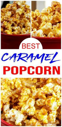 Looking for the BEST caramel popcorn? Check out this easy caramel popcorn recipe. Yummy homemade caramel popcorn you will want to make today. Learn how to make… Microwave Caramel Corn, Microwave Caramels, Caramel Corn Recipes, Popcorn Recipes, Microwave Popcorn, Caramel Apples, Easy Caramel Popcorn, Candy Recipes, Easy Puppy Chow Recipe