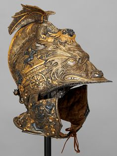 Among the 100 Habsburg pieces on display in the Museum of Fine Arts, Houston's current show is this Italian-made circa-1560 helmet belonging to Archduke Ferdinand II of Tyrol.Empire of Style | 1stdibs Introspective