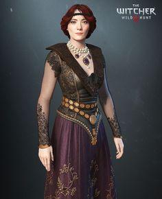 ArtStation - Oriana, The Witcher 3, Wild Hunt- Blood and Wine Expansion, Antonio Jose Gonzalez: