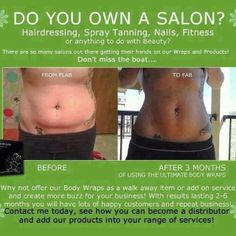 Invitation for Salon owners to increase their services by offering an added benefit of that Crazy Wrap Thing (It Works! Ultimate Body Applicator) to their customers. It Works Body Wraps, My It Works, Cellulite, It Works Distributor, Independent Distributor, Ultimate Body Applicator, It Works Global, It Works Products, Crazy Wrap Thing