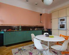 Casinha colorida: Inspiração do dia: diversas cozinhas vintage