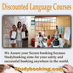 Visit studybooking.com now for discounted language courses world wide  Secure booking and guaranteed low prices is what were aiming.  #LearnEnglish #LearnSpanish #LearnRussian #LearnChinese #LanguageSchoolWorldWide