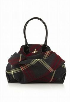 Vivienne Westwood tartan/one of my favorite D/B purses is tartan love it.