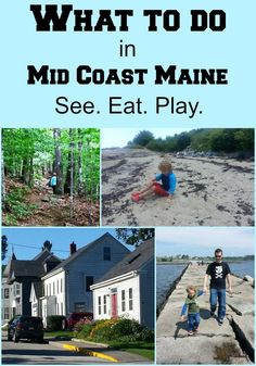 A collection of helpful articles about what to do on vacation in mid coast Maine. Sightseeing, eating, coffee, and entertaining kids in mid coast Maine. Vacation Places, Vacation Destinations, Vacation Spots, Vacation Ideas, Vacation Rentals, East Coast Travel, East Coast Road Trip, New England States, New England Travel