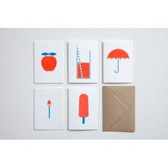 DIY greeting card set