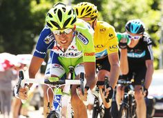 Chris Froome and Vincenzo Nibali - Le Tour de France 2012 - Stage Sixteen