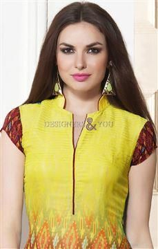 new latest kurti design 2016 best digital printed pakistani designer top