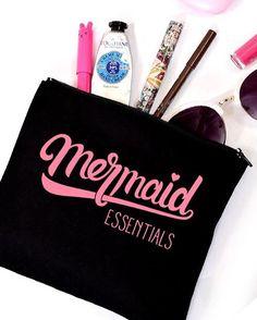 Mermaid Essentials Cosmetic Bag