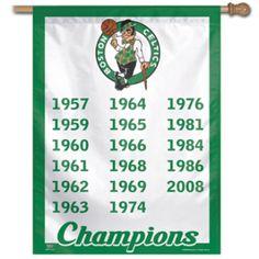 Boston Celtics banner