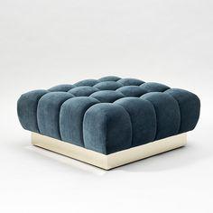 "Todd Merrill Custom Originals, ""Ottoman"" Classic Tufted Sectional Seating, USA   Todd Merrill Studio"