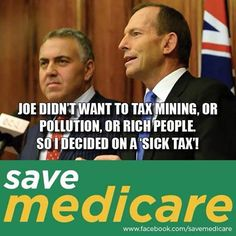 #auspol #australia #tonyabbott #medicare