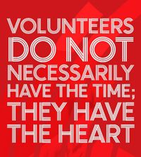 thank/you for volunteering - Google Search