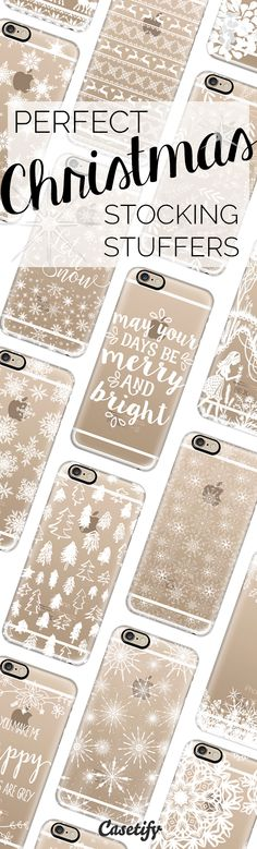 We've got the best Winter-Ready #phonecases and stocking stuffers here. Starting from $29.95: casetify.com/holidays