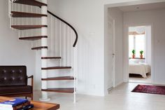 Gorgeous spiral staircase…