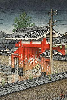 Art japonais - Hasui Kawase