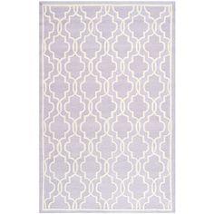 Safavieh Handmade Moroccan Cambridge Lavender Indoor Wool Rug (4' x 6') | Overstock.com Shopping - The Best Deals on 3x5 - 4x6 Rugs