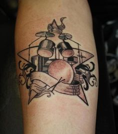 Drums Tattoo - LiLz.eu - Tattoo DE