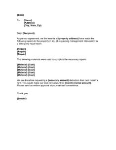 Image Result For Landlord Security Deposit Return Letter