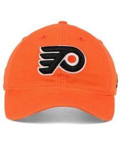 adidas Philadelphia Flyers Core Slouch Cap - Orange Adjustable
