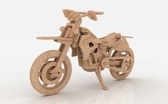 Motocross Dirt Bike - Motorcycles & Bikes | MakeCNC.com
