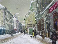 http://happyface313.com/2016/02/10/bitterkalt/ - © Albertina, Hans Robert Pippal Wien 8, Theater in der Josefstadt im Winter
